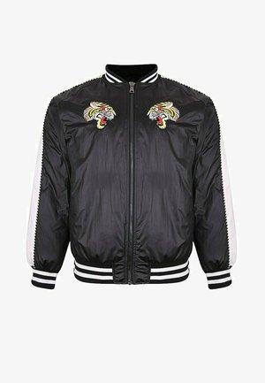 TIGER-SUKA SATIN - Bomber Jacket - black beauty