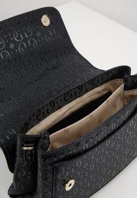 Guess - CHIC SHINE SHOULDER BAG - Handbag - black - 3