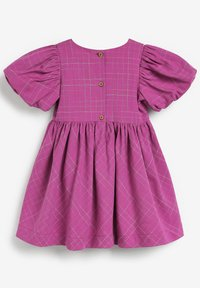 Next - EMBROIDERED - Day dress - purple - 1