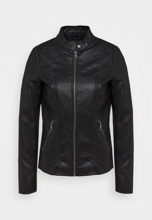 ONLMELISA JACKET  - Imiteret læderjakke - black