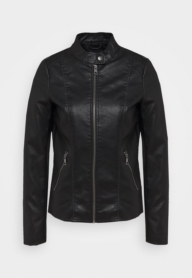ONLMELISA JACKET  - Giacca in similpelle - black