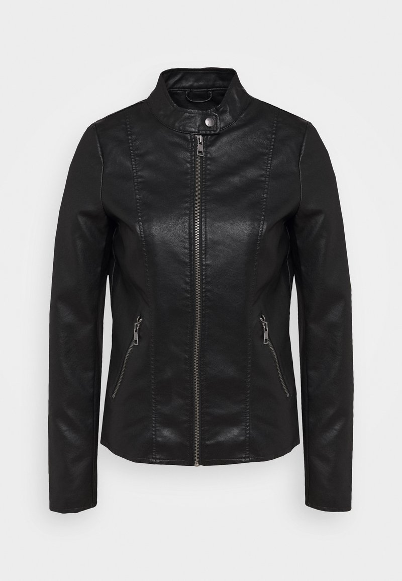 ONLY Tall - ONLMELISA JACKET  - Faux leather jacket - black