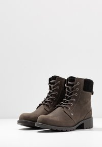 Clarks - ORINOCO DUSK - Lace-up ankle boots - dark grey - 4