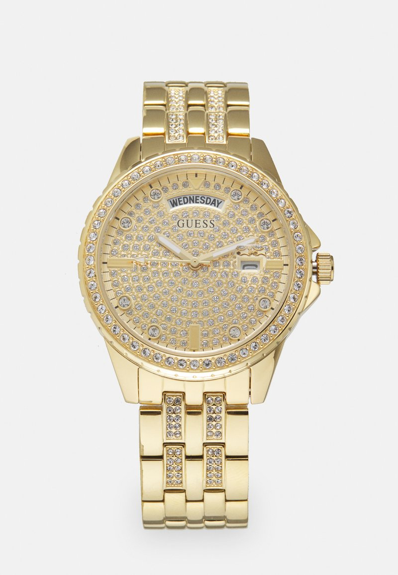 Guess - LADIES DRESS - Reloj - gold-coloured