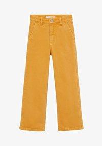 Mango - CULOTTEC - Jeans Straight Leg - moutarde - 0