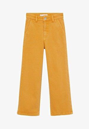 CULOTTEC - Jeans Straight Leg - moutarde