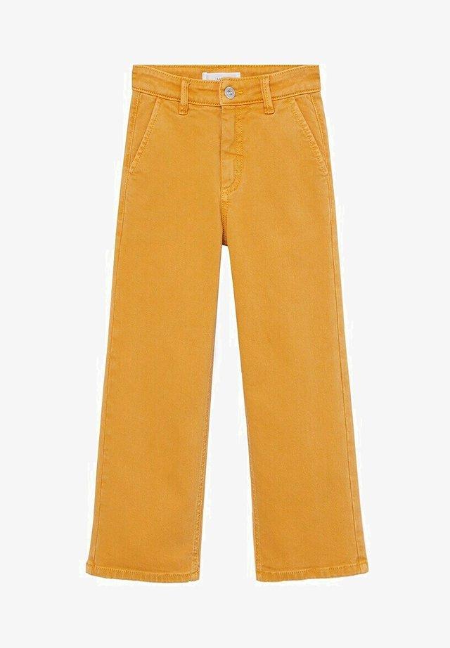 CULOTTEC - Jeans a sigaretta - moutarde