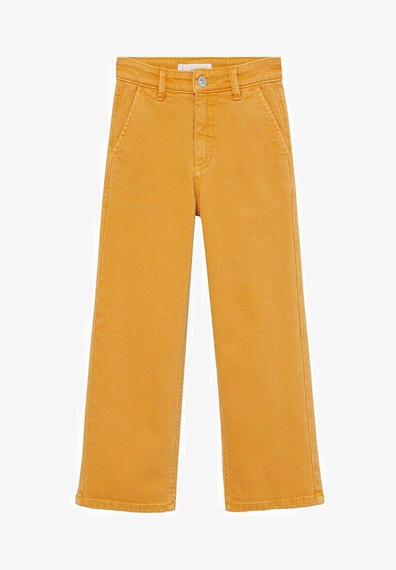 Mango - CULOTTEC - Jeans Straight Leg - moutarde