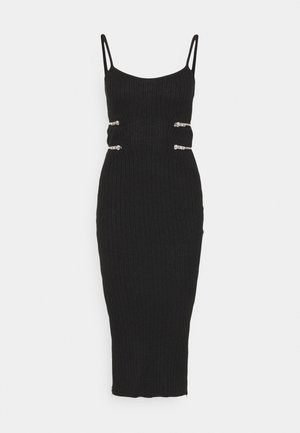 TABOO DRESS - Shift dress - black