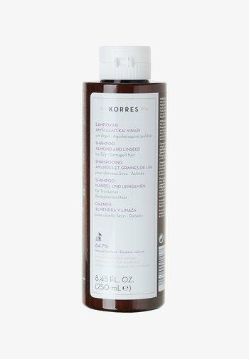 ALMOND & LINSEED SHAMPOO - Shampoo - -