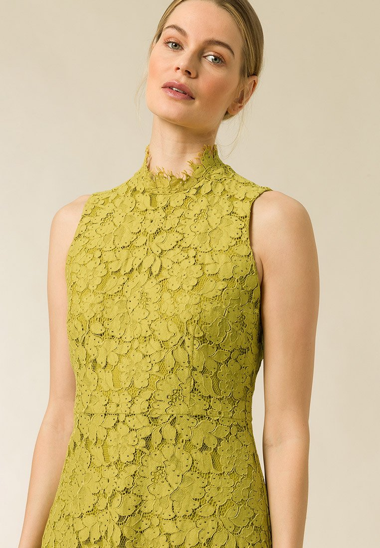 Fashionable Women's Clothing IVY & OAK Cocktail dress / Party dress mustard yellow GcUXyfxw2