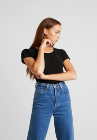 Vero Moda - VMCELENA JRS - T-shirt basique - black - 0