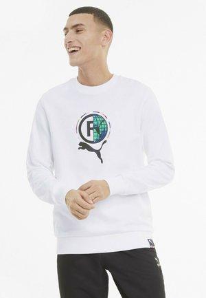 INTERNATIONAL GRAPHIC  - Sweatshirt - puma white