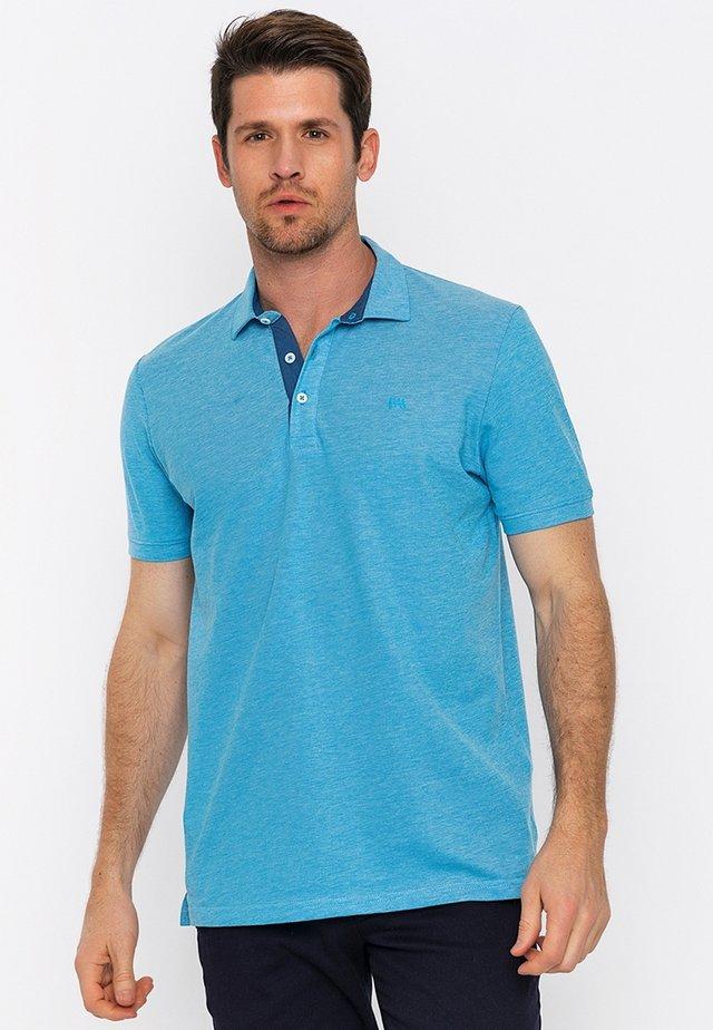 Poloshirts - turquoise