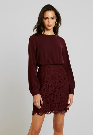 VMELLIE SHORT DRESS - Cocktailjurk - port royale