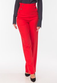 Diyas London - CHERRY - Trousers - red - 0