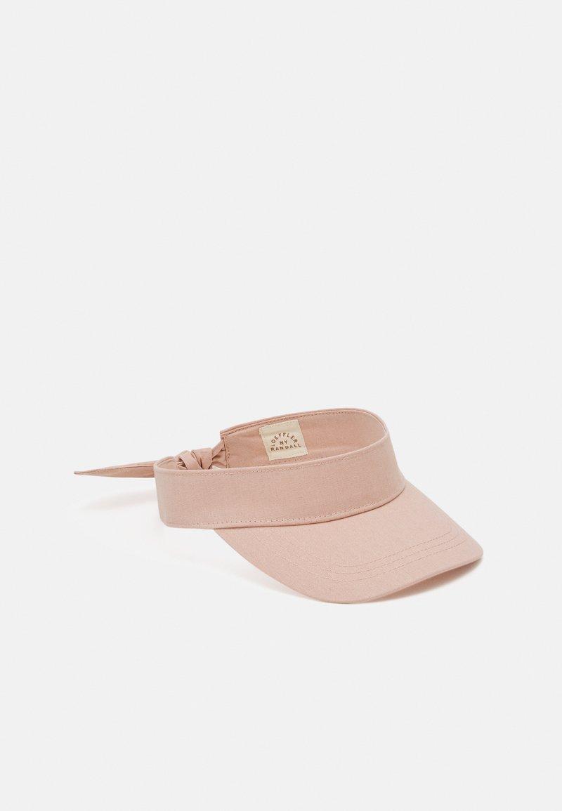 Loeffler Randall - BOW VISOR - Kšiltovka - bermuda pink