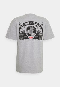 Obey Clothing - OBEY PAINT IT BLACK - Printtipaita - heather grey - 1