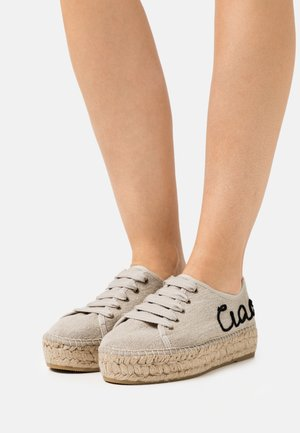 PATRI  - Casual lace-ups - beige
