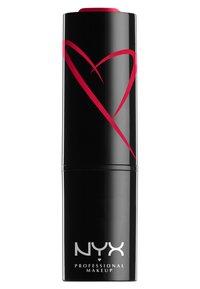 Nyx Professional Makeup - SHOUT LOUD SATIN LIPSTICK - Lipstick - cherry charm - 1
