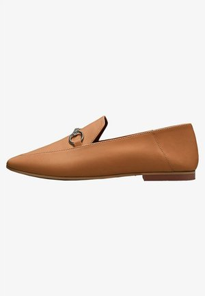 LOAFER MIT FALTBARER FERSE 11536550 - Mocassins - brown
