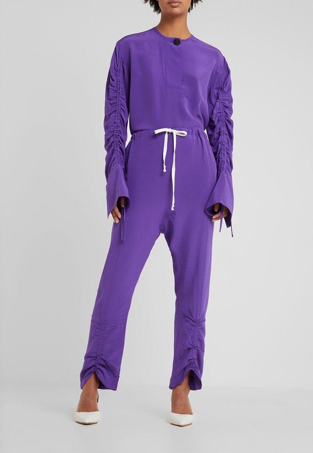 ANULA - Trousers - tillandsia purple