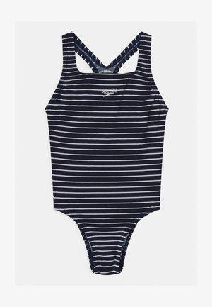 MEDALIST - Swimsuit - navy/white