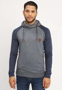 INDICODE JEANS - DYOTT - Hoodie - navy mix - 0
