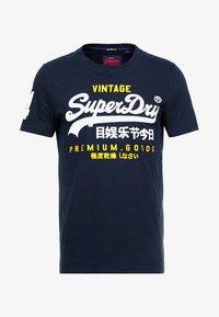 Superdry - PREMIUM GOODS DUO LITE TEE - Print T-shirt - navy - 3