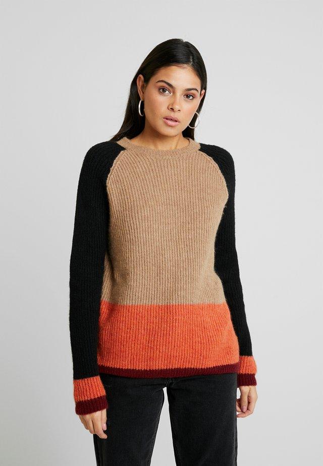 ANNA-LYN - Pullover - beige melange