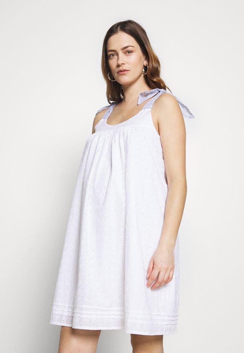 Paulina - SON OF A SUN - Korte jurk - white