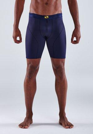 Pants - navy blue