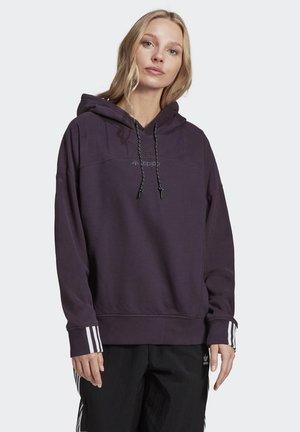 R.Y.V. HOODIE - Felpa con cappuccio - purple