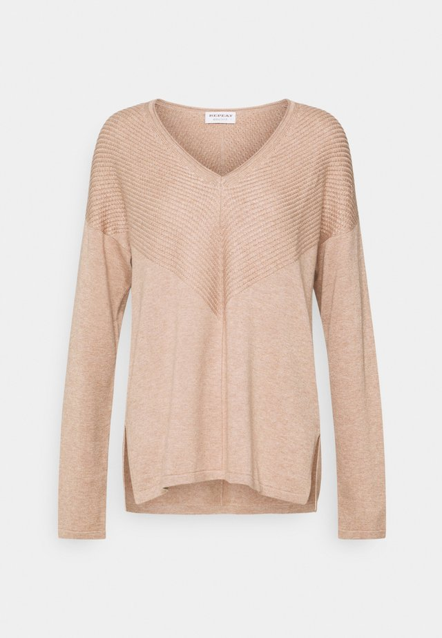 SWEATER - Strickpullover - caramel