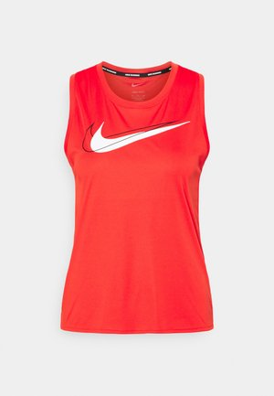 RUN TANK - Top - chile red/reflective silver