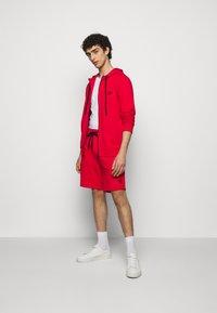 HUGO - DAPLE - Zip-up sweatshirt - open pink - 1