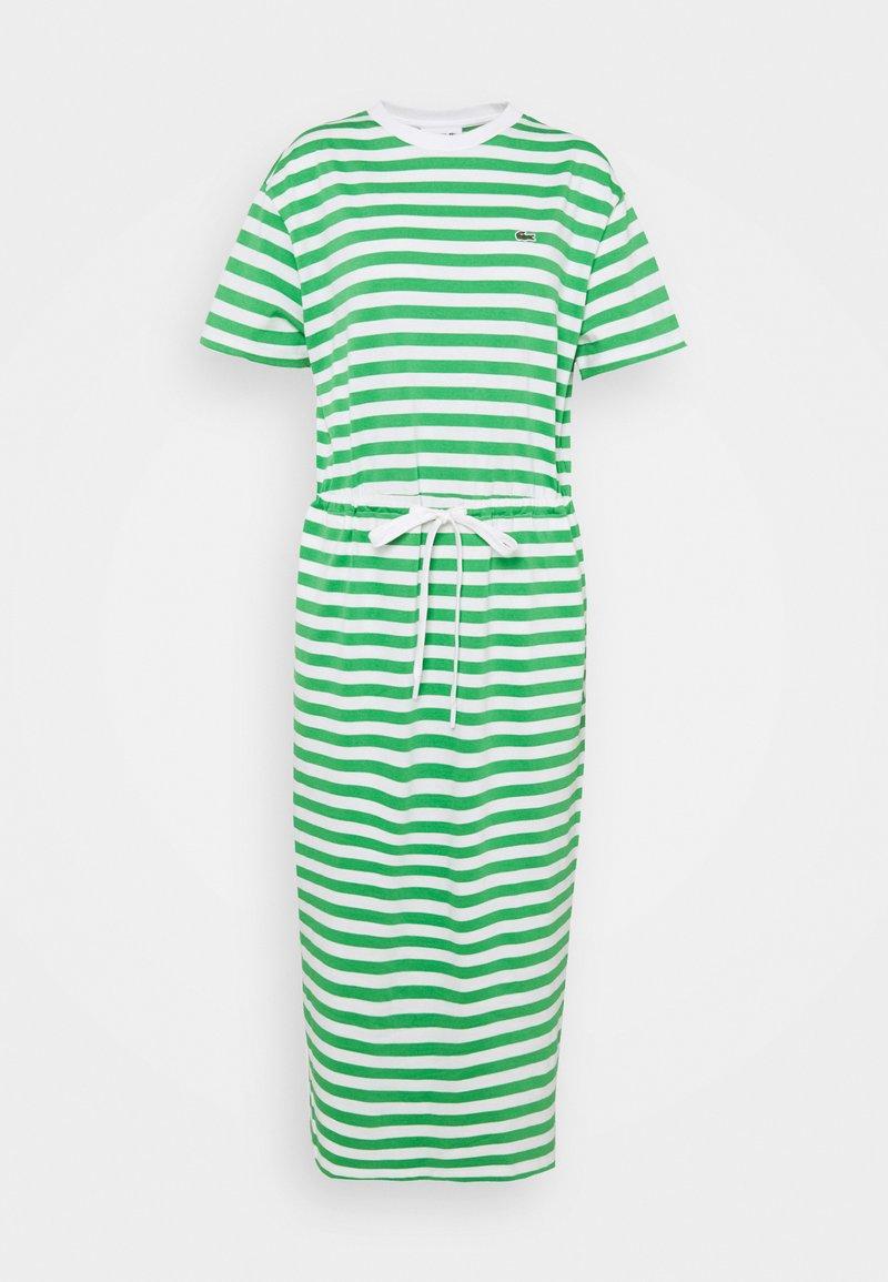 Lacoste - Jersey dress - chervil/flour