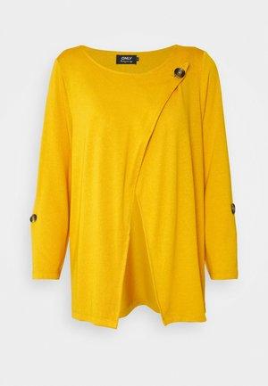 ONLELLE CARDIGAN - Gilet - golden yellow