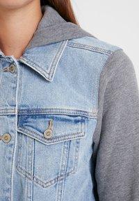 Hollister Co. - TWOFER JACKET - Denim jacket - blue denim - 5