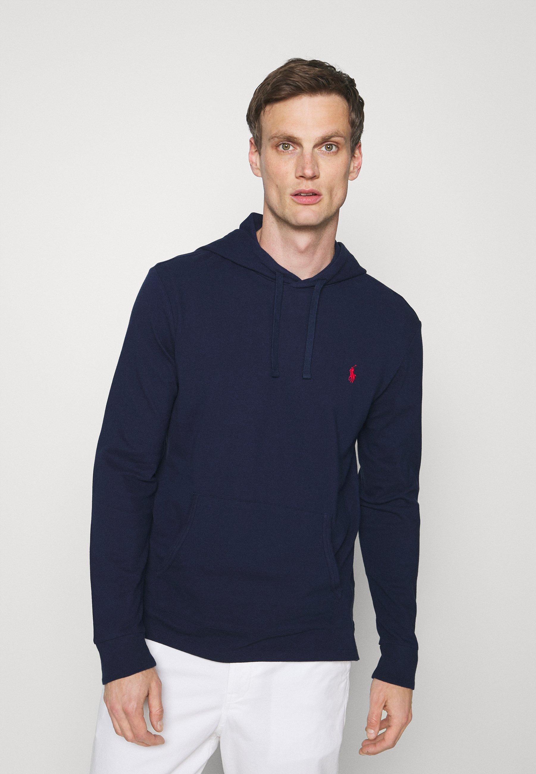 Herren MESH HOODED T-SHIRT - Sweatshirt