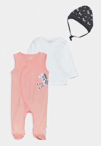 SET - Sleep suit - light pink