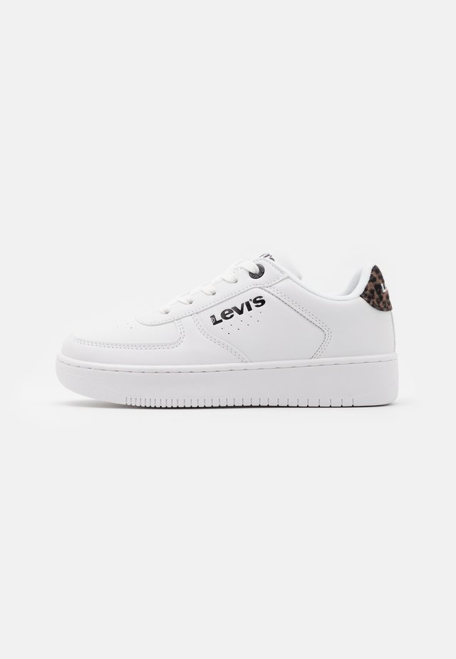 NEW UNION - Sneakers basse - white/brown