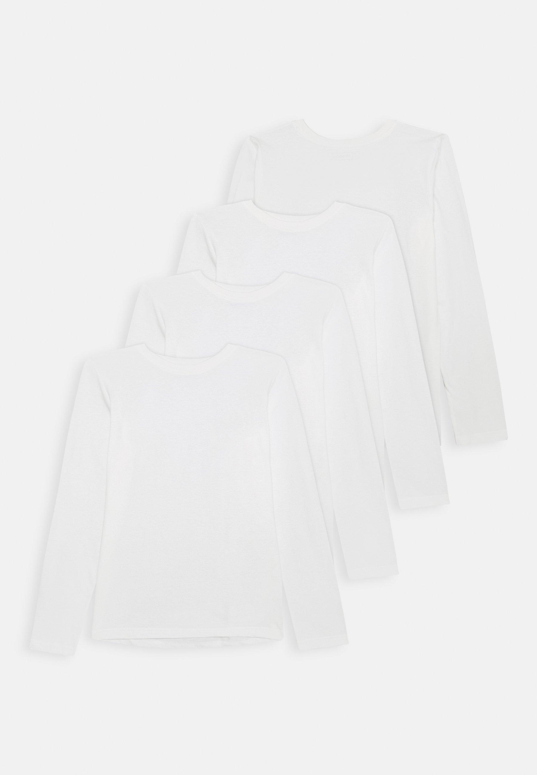 Kinder 4 PACK  - Langarmshirt - winter white