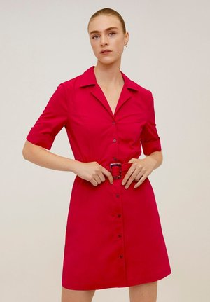 MEXI - Blousejurk - red