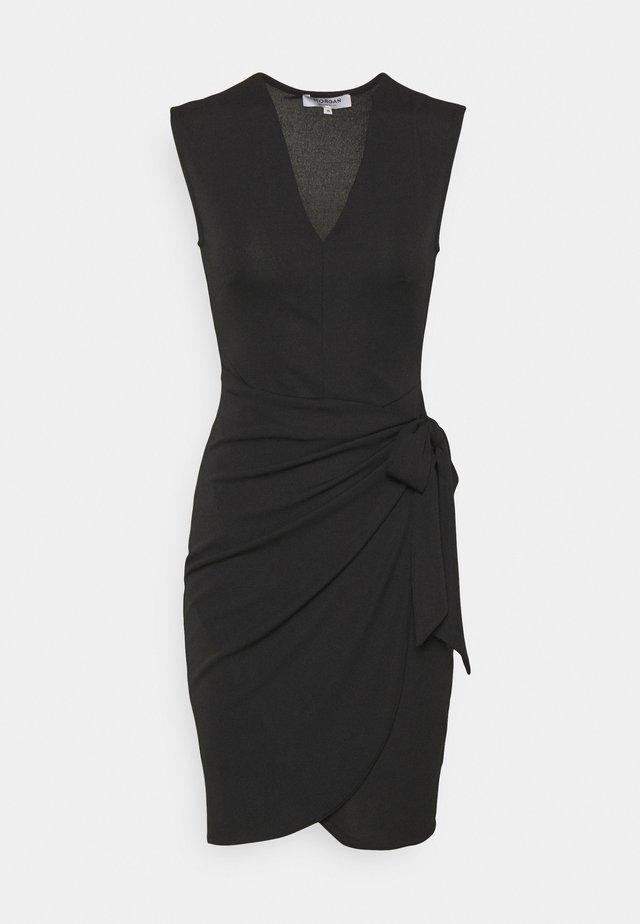 Jerseyklänning - noir
