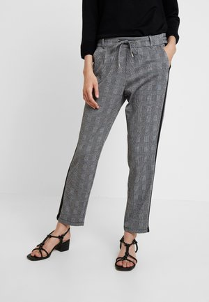 Trousers - grey/black