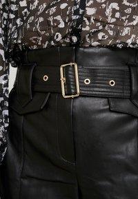 River Island - Spodnie materiałowe - black - 4