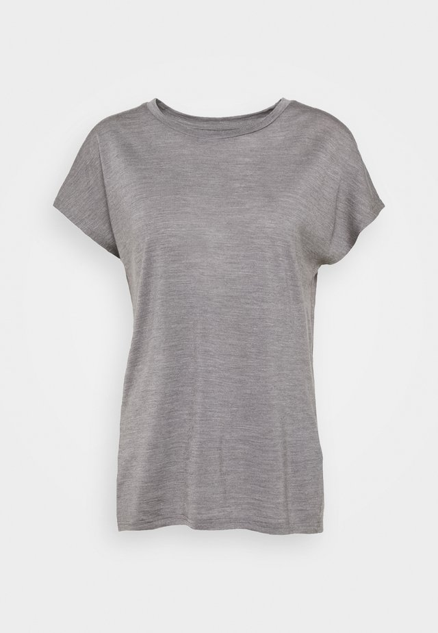 ACTIVIST TEE - T-shirt - bas - soft grey