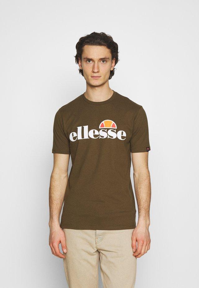 SMALL LOGO PRADO - T-Shirt print - khaki