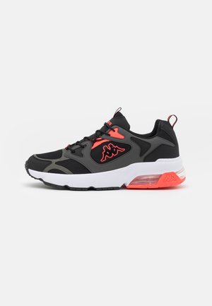 YERO UNISEX - Sports shoes - black/coral